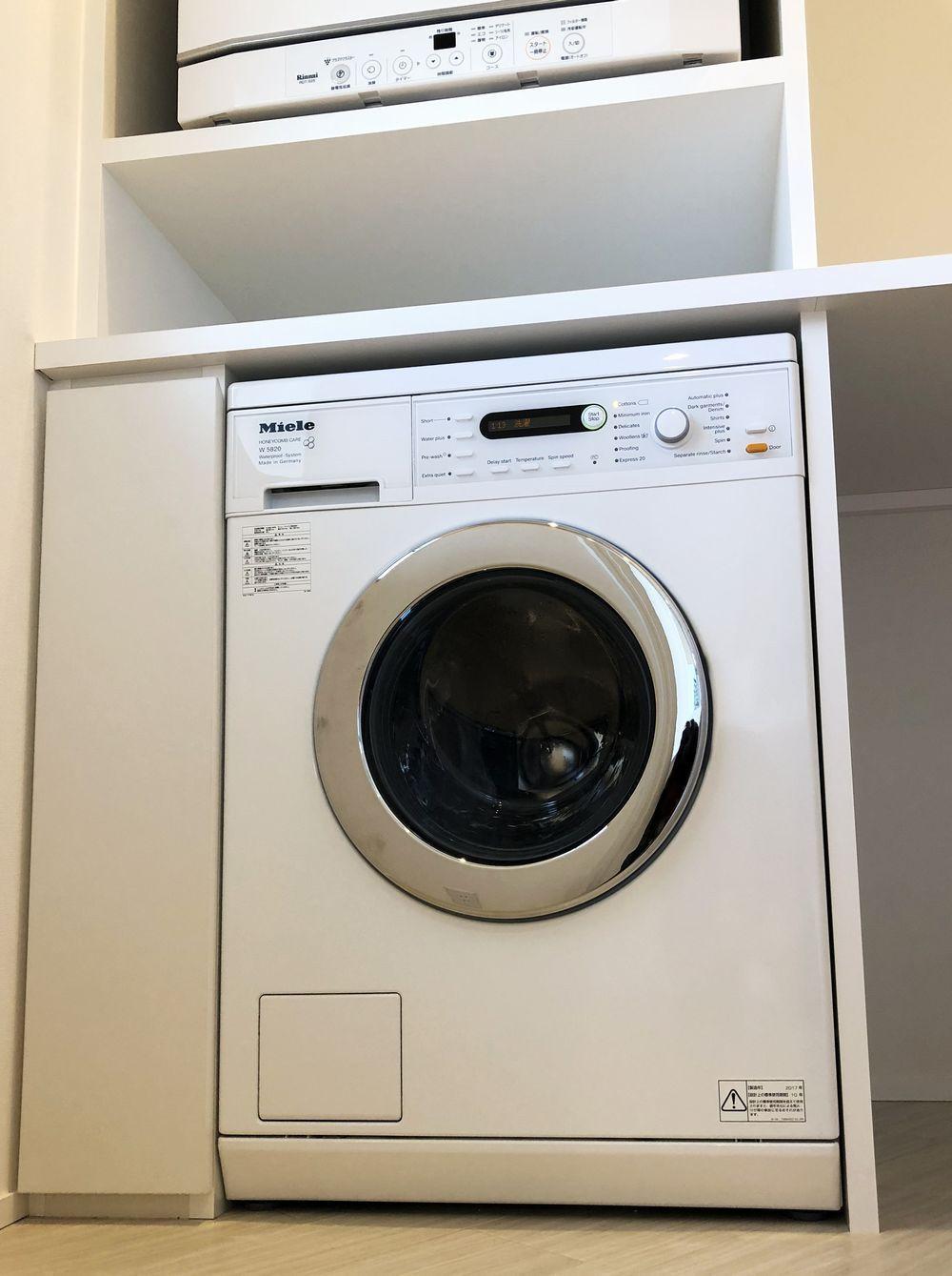 ナチュラル空間への食洗機、洗濯機設置_a0155290_11462409.jpg