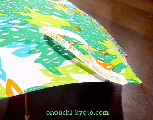 娘さんのオリジナルプリントが母の想いで素敵な日傘に!_f0184004_22551807.jpg