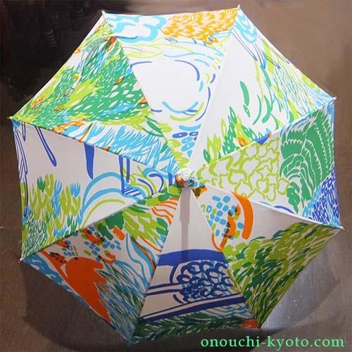 娘さんのオリジナルプリントが母の想いで素敵な日傘に!_f0184004_22551883.jpg