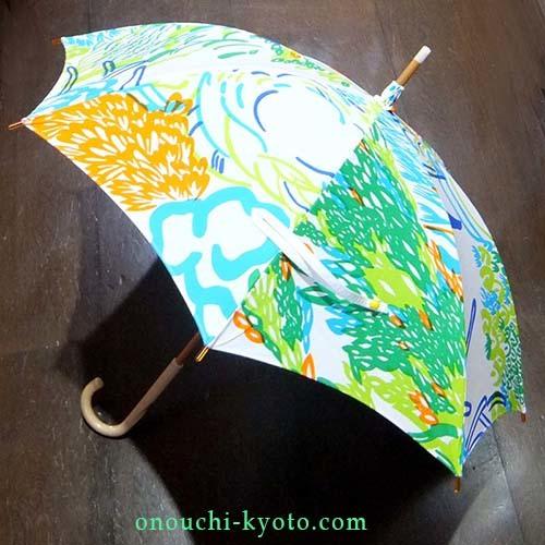 娘さんのオリジナルプリントが母の想いで素敵な日傘に!_f0184004_22551988.jpg