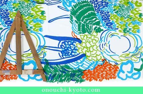 娘さんのオリジナルプリントが母の想いで素敵な日傘に!_f0184004_22551997.jpg