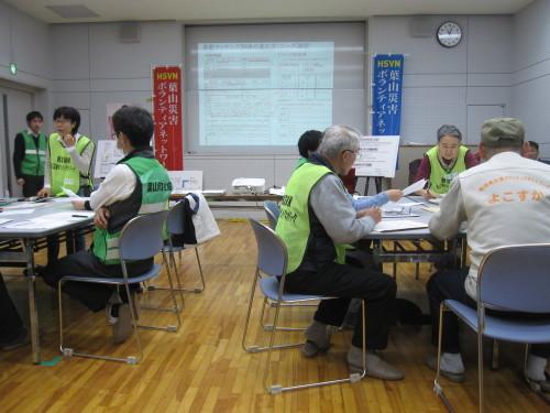 災害ボランティアセンター設置運営訓練_e0350927_09471156.jpg