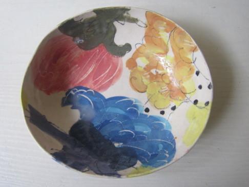 トロピカル柄のカレー皿/伊集院真理子さん。_b0207631_08190982.jpg