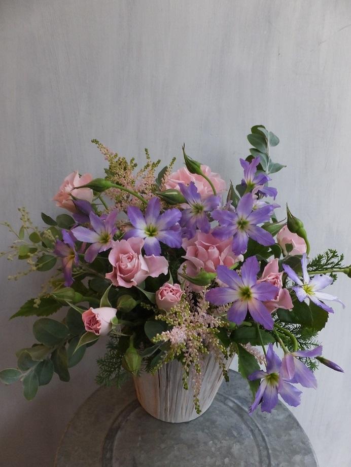 オークリーフ(薔薇と草花のアレンジメント)_f0049672_11441867.jpg