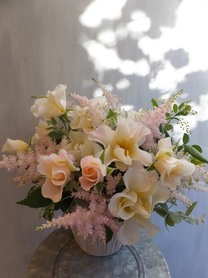 オークリーフ(薔薇と草花のアレンジメント)_f0049672_11442598.jpg