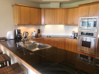 コンドミニアムのキッチン ハワイ島_c0237291_11461327.jpg