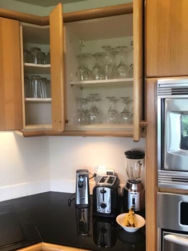 コンドミニアムのキッチン ハワイ島_c0237291_11463800.jpg