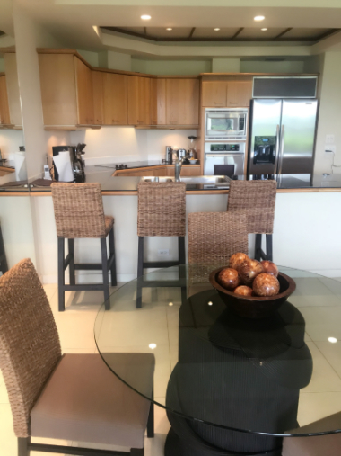 コンドミニアムのキッチン ハワイ島_c0237291_12004937.jpg