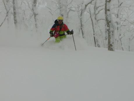 2018年1月21日 ルスツ周辺を滑る_c0242406_14012121.jpg