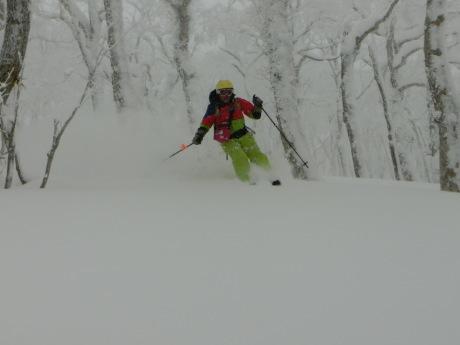2018年1月21日 ルスツ周辺を滑る_c0242406_14022303.jpg