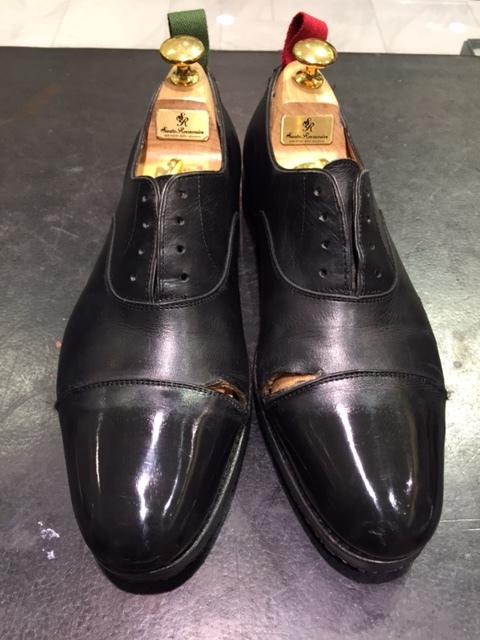 ビックリするくらいホコリまみれの靴を救出_b0226322_17403094.jpg