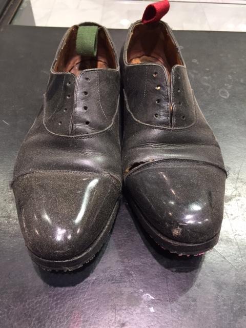 ビックリするくらいホコリまみれの靴を救出_b0226322_17403165.jpg