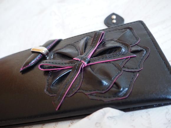 カッコ良くって色っぽい、美しいお財布が出来上りました♡_f0340942_21411545.jpg