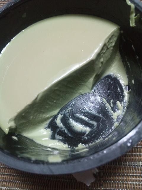 ライザップ 抹茶ショコラプリン ホワイトチョコレート仕立て_f0076001_06402.jpg