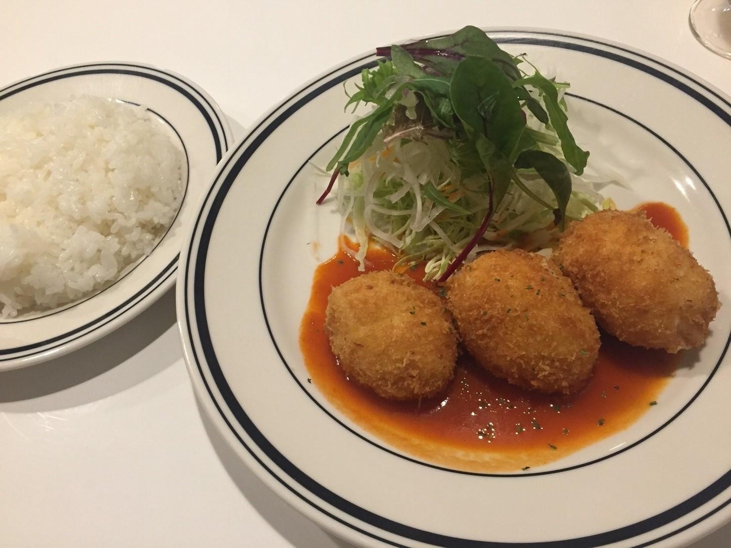 洋食堂コロンバ ディナー_e0115904_15275351.jpg