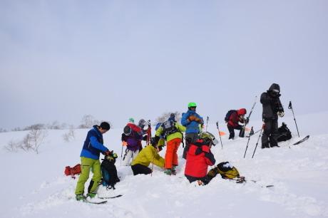 2018年1月21日ニセコ五色温泉に泊まり、裏のメクンナイ岳を滑る_c0242406_17061123.jpg