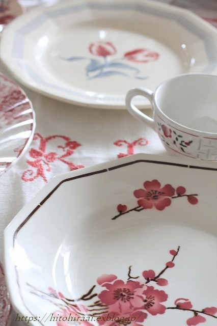春のお皿を集めてみました。_f0374092_22125963.jpg