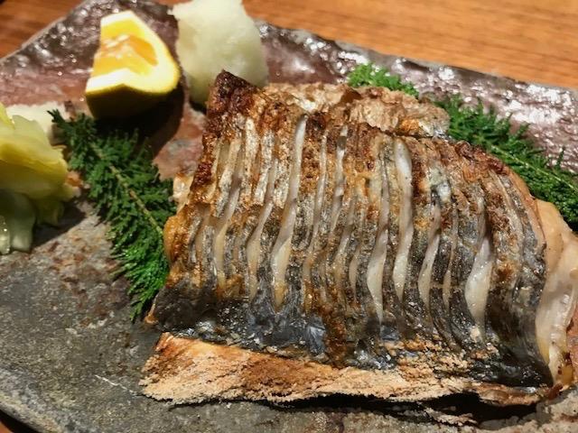太刀魚塩焼き_f0232994_11134843.jpg
