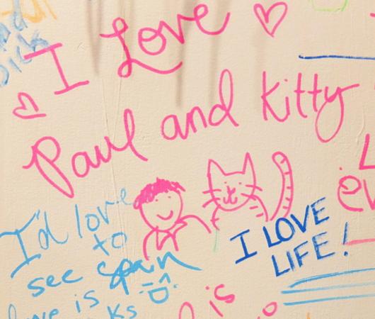 キャナル・ストリート・マーケットで「ラブ・ウォール」(Love Wall)展?!_b0007805_23303197.jpg