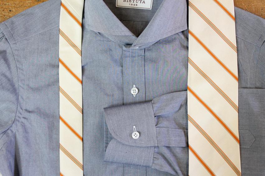 これからの季節、コットンシャツで清潔さもキープしましょう。_b0081010_19321385.jpg