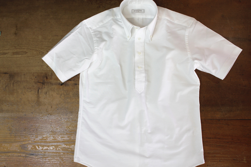 これからの季節、コットンシャツで清潔さもキープしましょう。_b0081010_19321453.jpg