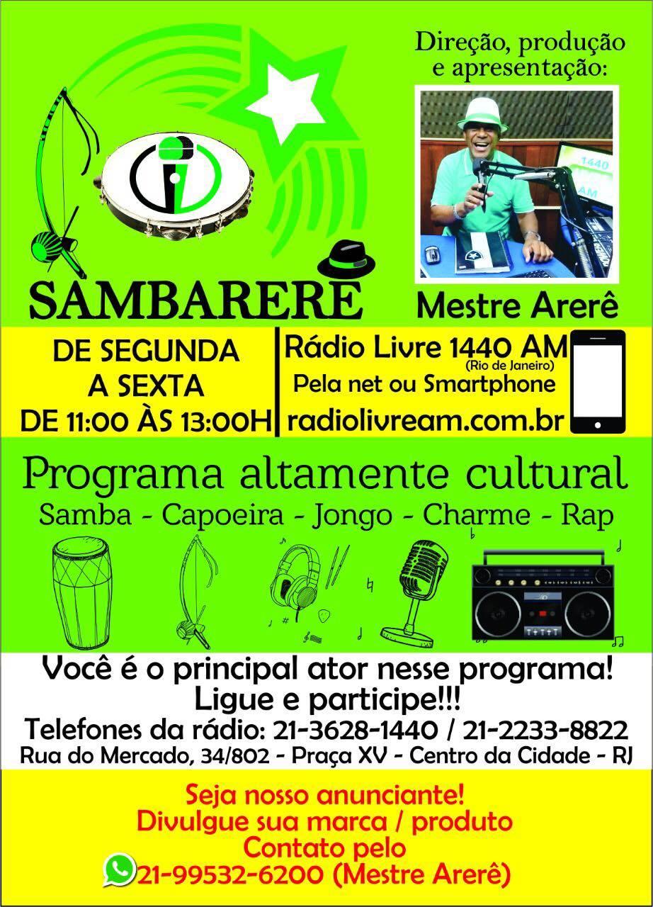 #ブラジル #リオデジャネイロ で大ベテラン名司会Mestre Arerêの【ラジオ生放送番組にゲスト出演】♬_b0032617_20325361.jpg