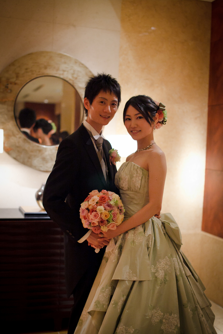 新郎新婦様からのメール ANAインターコンチネンタルホテルの花嫁様より、6年越しに _a0042928_23152192.jpg