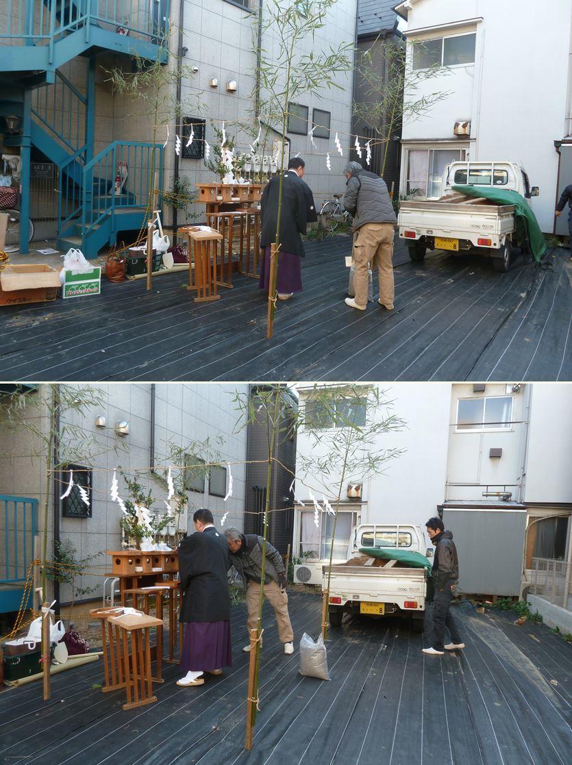 下丸子の家☆地鎮祭が無事執り行われました!_c0152341_16370600.jpg