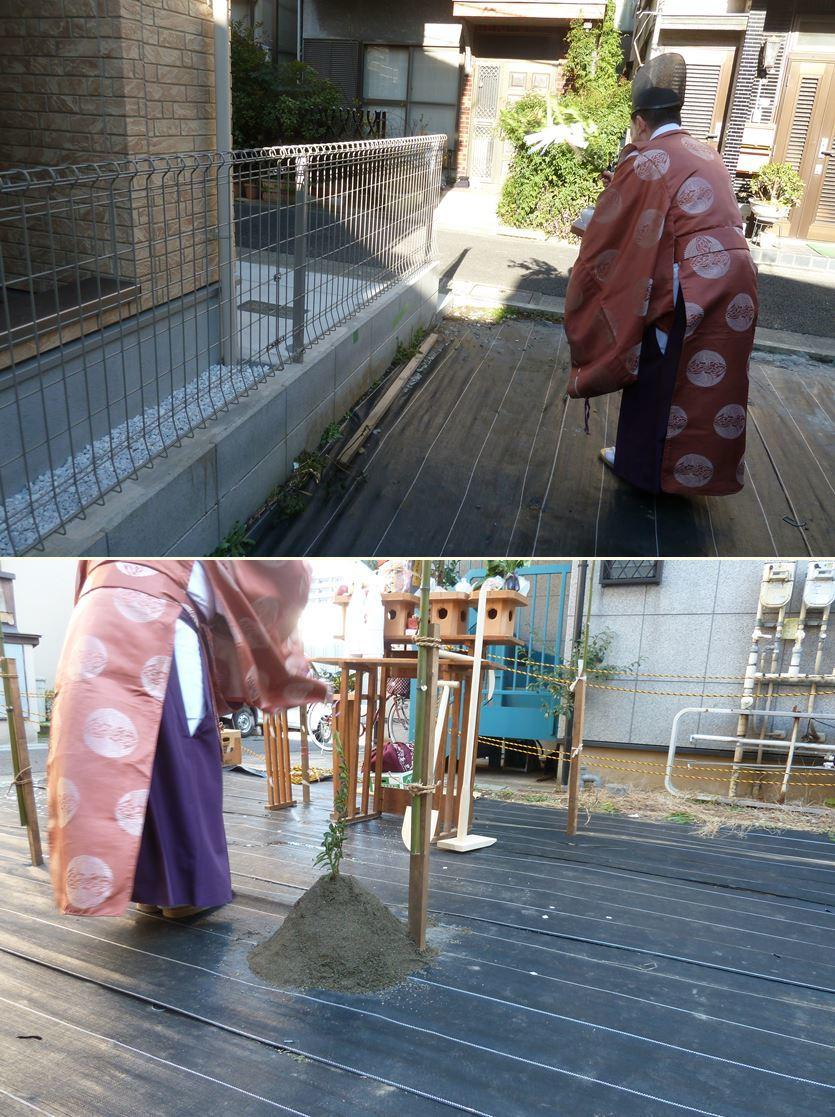 下丸子の家☆地鎮祭が無事執り行われました!_c0152341_16425929.jpg