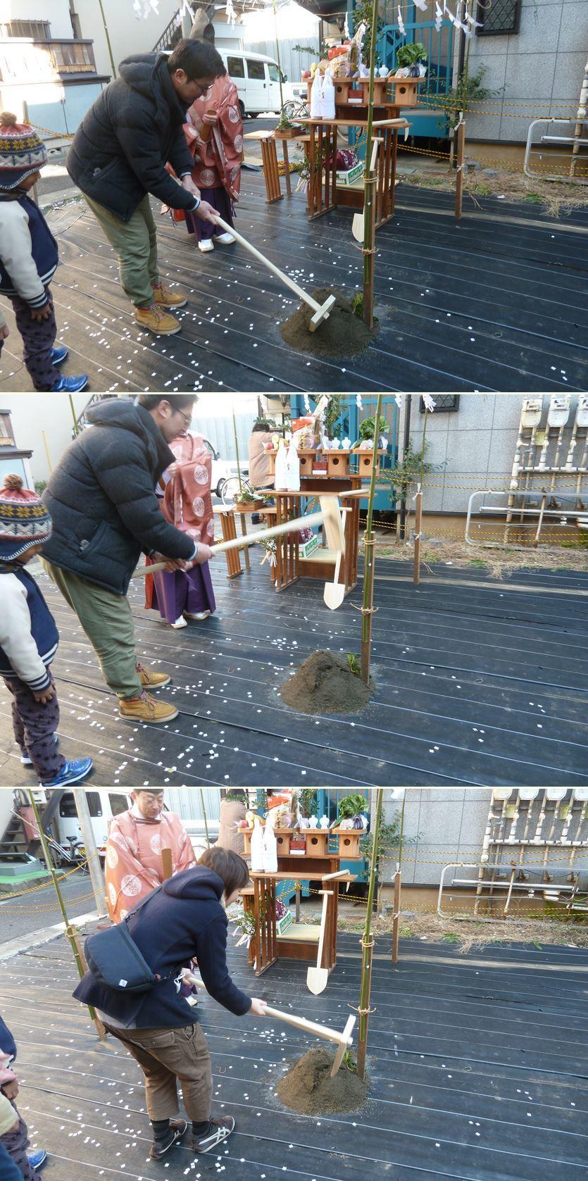下丸子の家☆地鎮祭が無事執り行われました!_c0152341_16432167.jpg