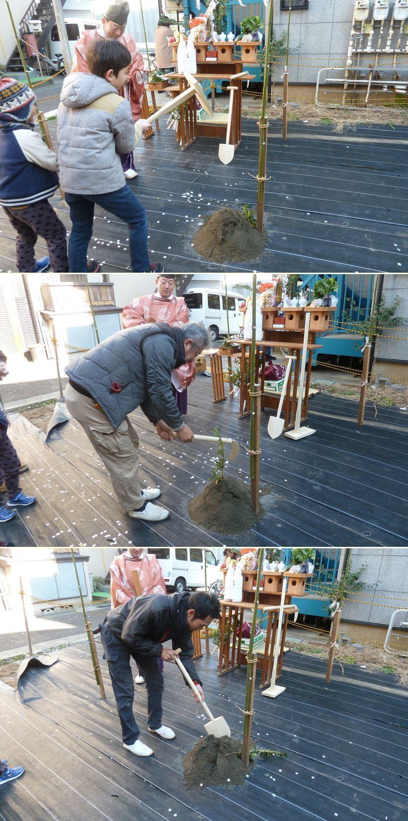 下丸子の家☆地鎮祭が無事執り行われました!_c0152341_16433984.jpg