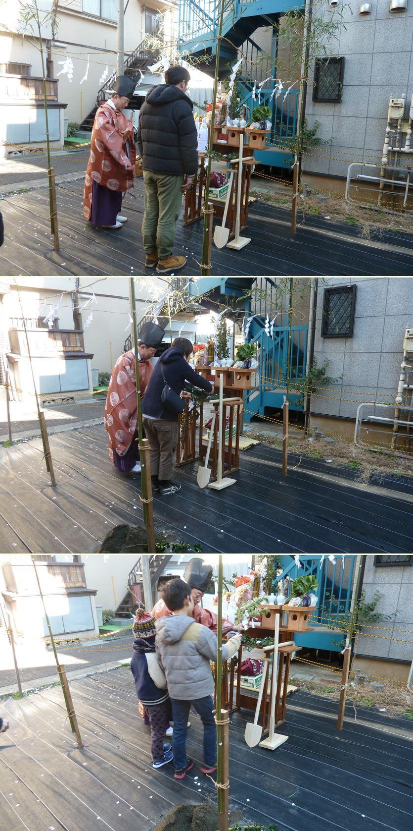 下丸子の家☆地鎮祭が無事執り行われました!_c0152341_16440022.jpg