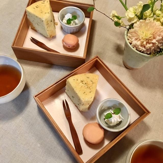 happy tea time    絶品 桜シフォンケーキ_a0165160_10404530.jpg