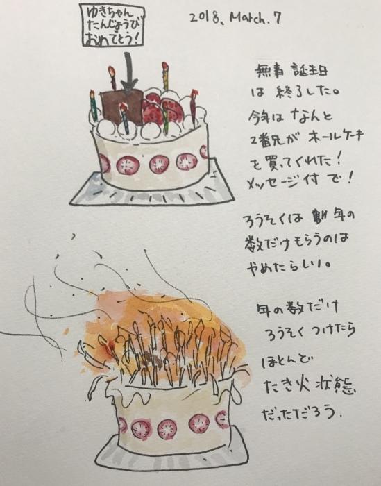 40数年ぶり お誕生日ケーキ_f0072976_00240313.jpeg