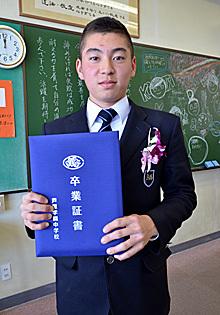 祝 中学卒業!_e0103024_16264743.jpg