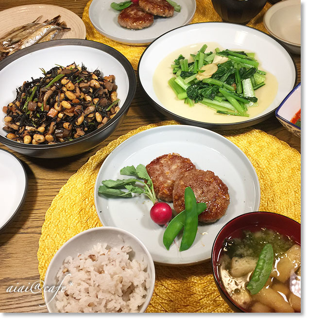 保存版王道レシピ!五目ひじき豆_a0056451_18184352.jpg