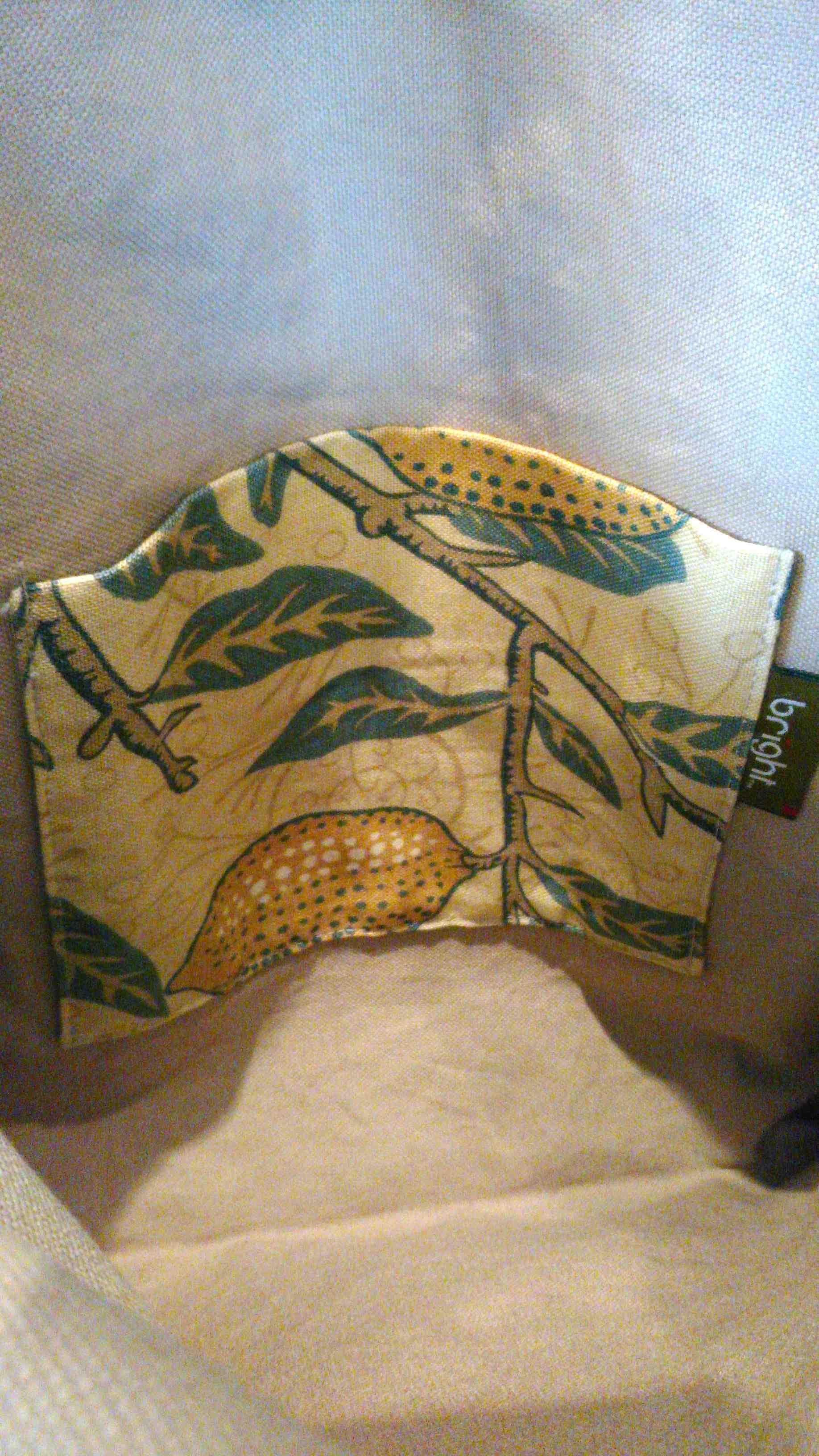 モリスの布バッグ 『フルーツ』_c0157866_19451957.jpg