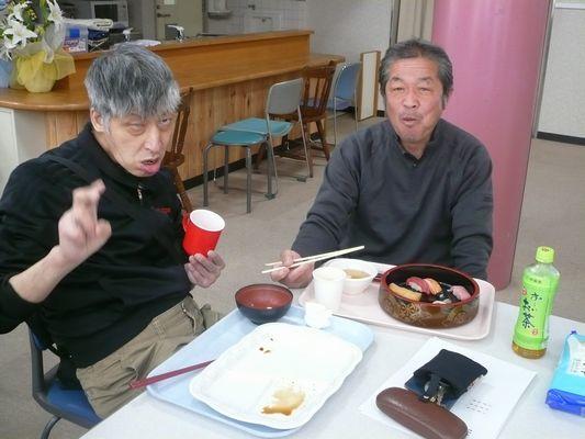 3/11 寿司パーティー_a0154110_15392157.jpg