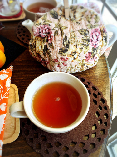 Tea Cozy@2017年10月_e0292546_20284247.jpg