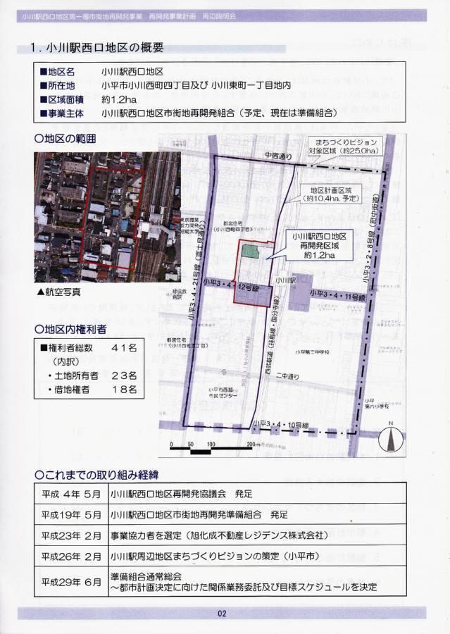 小川駅西口地区再開発 説明会_f0059673_23255453.jpg