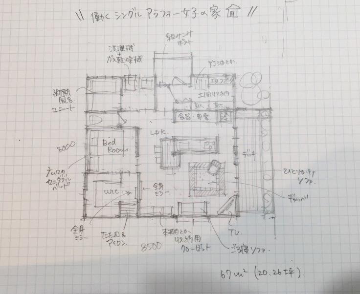 働くシングル アラフォー女子の建てる家(仮称)w_c0274374_23555439.jpeg