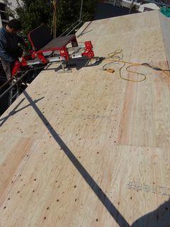 板橋区の赤塚で、屋根葺き替え工事_c0223192_22444985.jpg