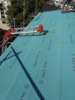板橋区の赤塚で、屋根葺き替え工事_c0223192_22445253.jpg