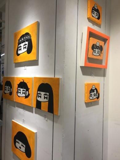 3/9~3/21 ウチボリシンペさんmini exhibition 3 [ mob girls ]開催のお知らせ_f0010033_18261489.jpg