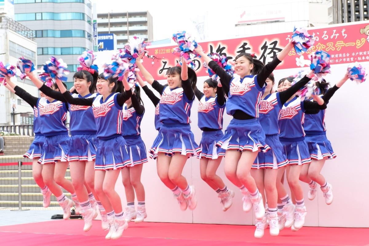 水戸商業高等学校チア・ダンス部「Blue Twinkle\'s」 2018・03・11_e0143883_17511115.jpg