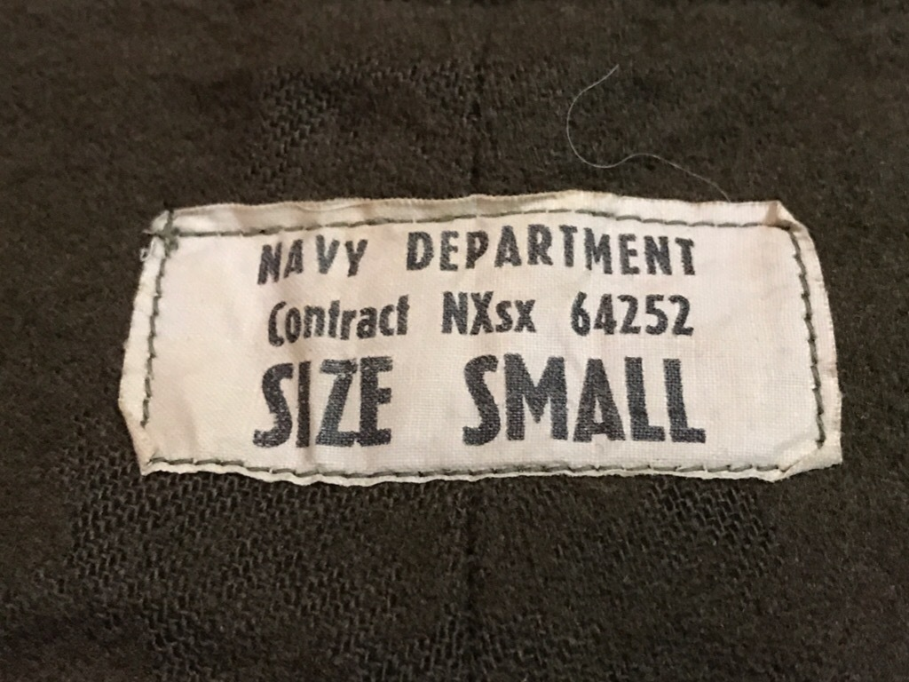 神戸店3/14(水)Vintage入荷! #6 US.Military Part3! USN Deck Pants!!!_c0078587_17244507.jpg