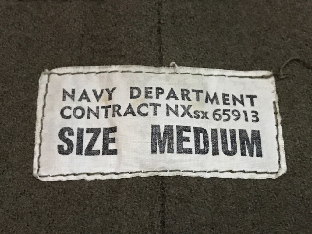 神戸店3/14(水)Vintage入荷! #6 US.Military Part3! USN Deck Pants!!!_c0078587_17260687.jpg
