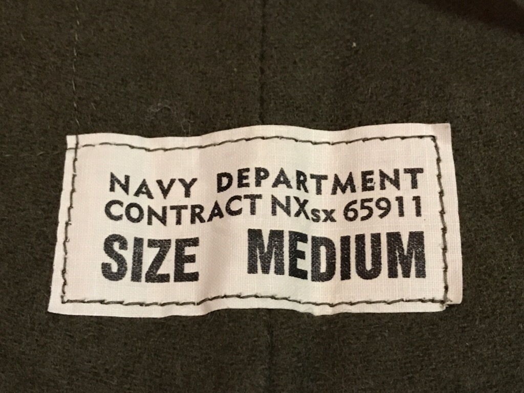 神戸店3/14(水)Vintage入荷! #6 US.Military Part3! USN Deck Pants!!!_c0078587_23221267.jpg