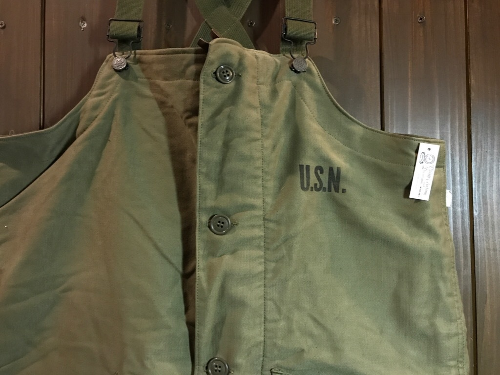 神戸店3/14(水)Vintage入荷! #6 US.Military Part3! USN Deck Pants!!!_c0078587_23224252.jpg