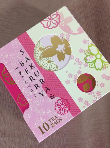 桜の紅茶_c0223630_10525873.jpg